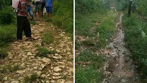 Kondisi Jalan di Mbongos Memperihatinkan, Kades Golo Watu Harus Bertanggung Jawab