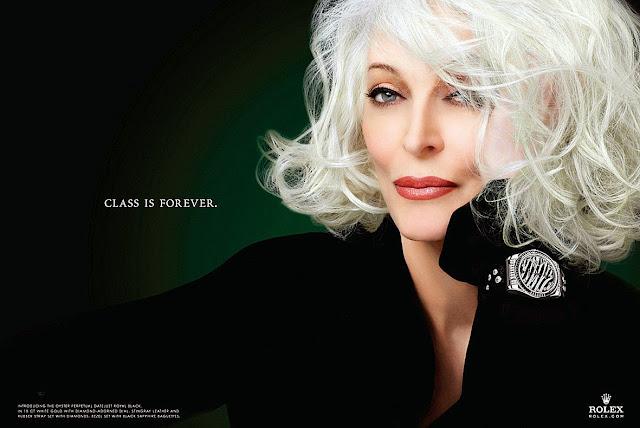 Class is Forever Rolex Ad Carmen Dell'Orefice