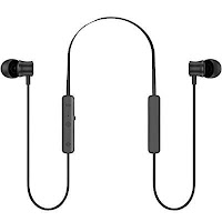 Hydesen IPX7 Bluetooth Earbud Wireless Headphone,Noise Cancelling Magnetic Go Stereo Bluetooth Earbuds,Neckband Headset, Dual Drivers Earphone,Sports Sweatproof Earbuds with Mic for Iphone And Android