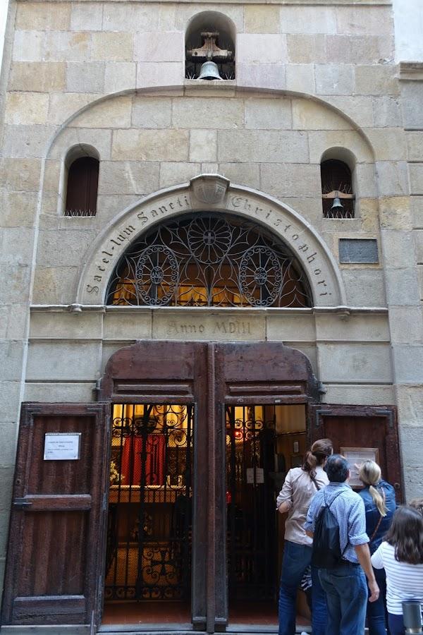 サン・クリストフォル礼拝堂(Capilla Sant Cristòfol)