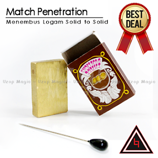 Jual alat sulap match Penetration Box
