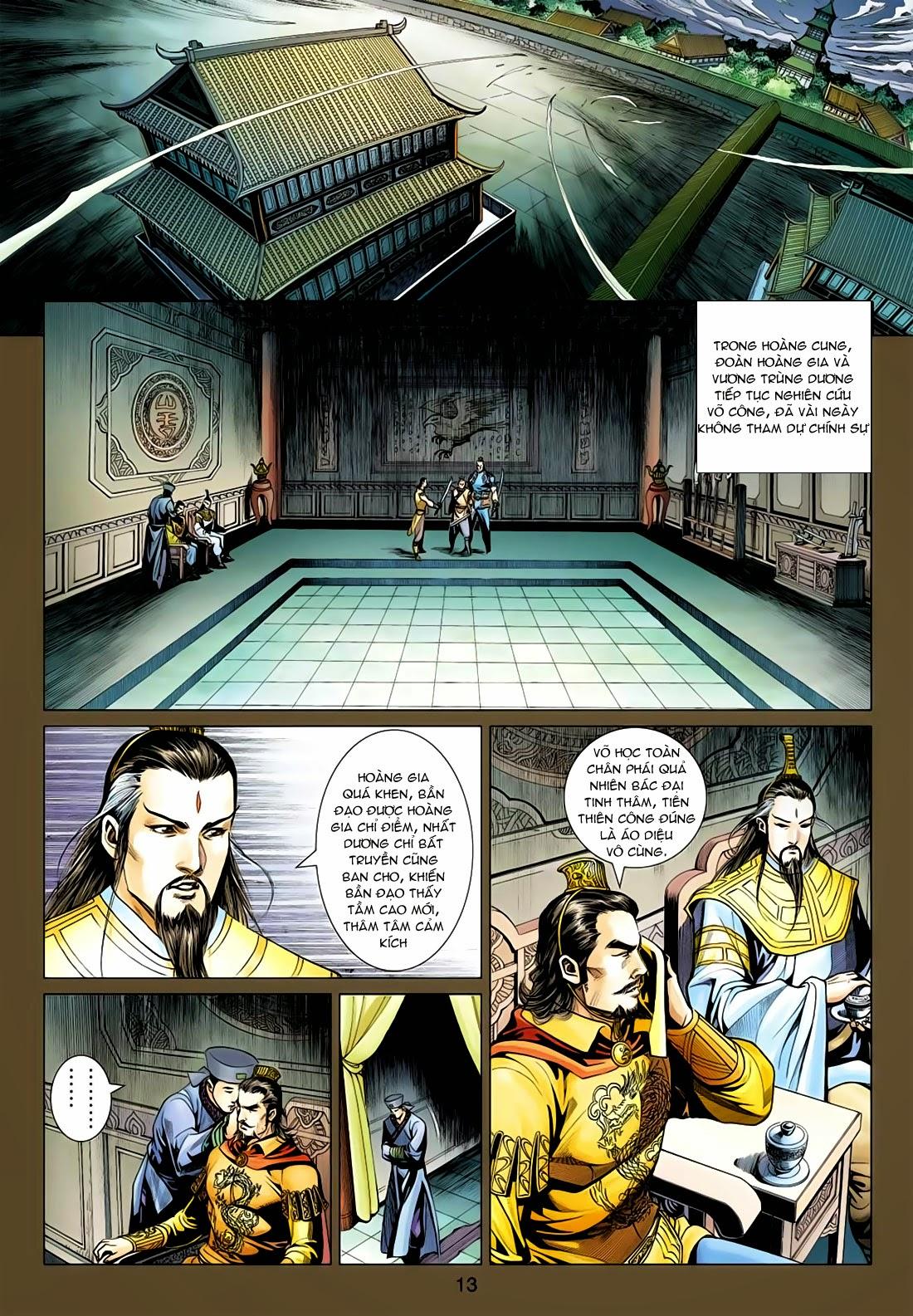 Anh Hùng Xạ Điêu anh hùng xạ đêu chap 77: thế thượng tối cường võ công trang 13