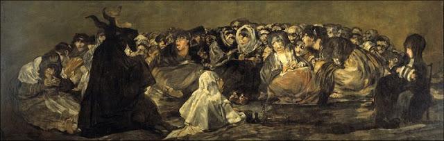 Museo del Prado. El aquelarre o El gran cabrón de Goya