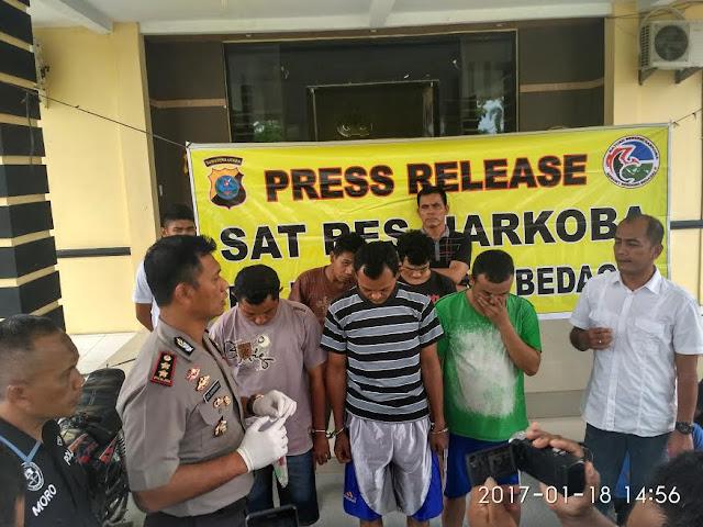 3 PNS dan 2 Honorer Ditangkap Saat Pesta Narkoba