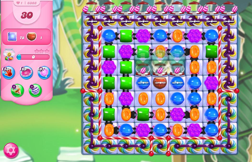Candy Crush Saga level 6366