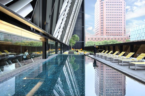 grand park orchard hotel swimming pool