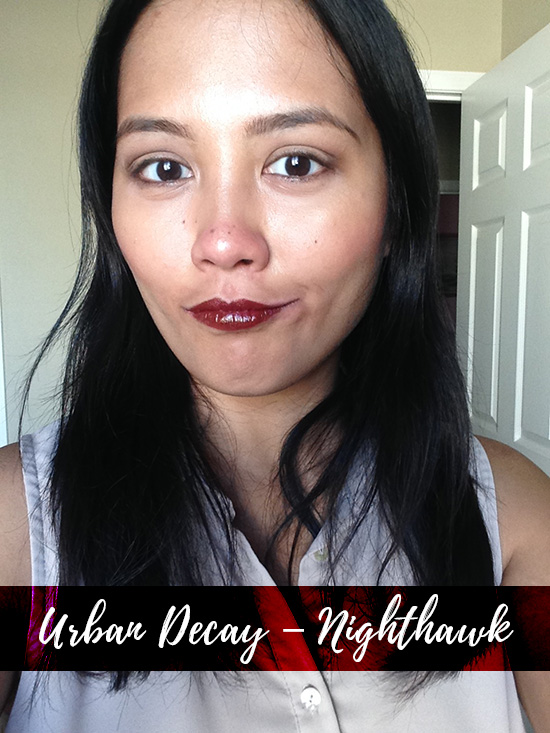 Urban Decay Vice Lipsticks Nighthawk