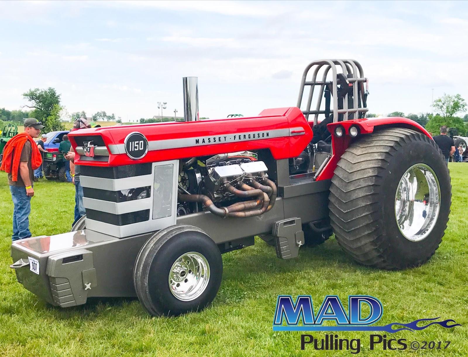 Tractor Pulling News - Pullingworld com: New MF 1150 Light