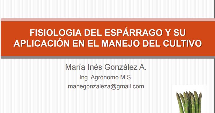 Libros De Agronomia Pdf Gratis Fisiolog A Del Esparrago Y