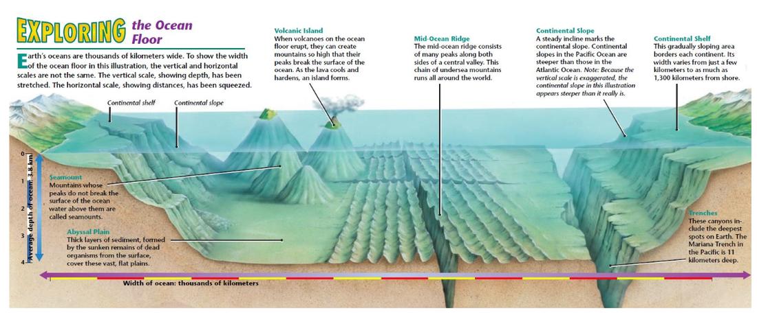 Morphology Of Ocean Basins