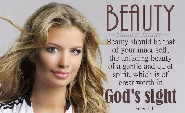 Beauty Bible Verse