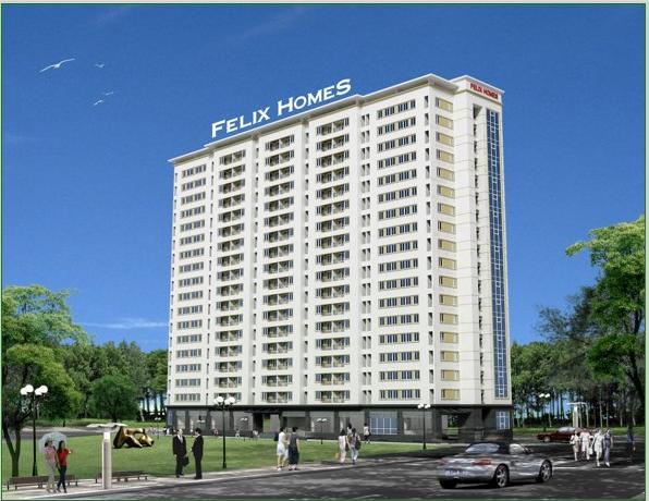 Phối cảnh căn hộ Felix Home Gò Vấp