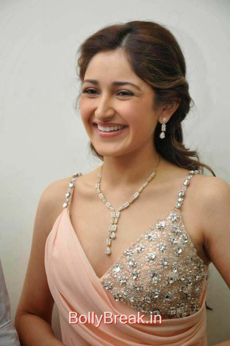 Sayesha Saigal Pics, Sayesha Saigal Hot Pics from Akhil New Movie Launch Function