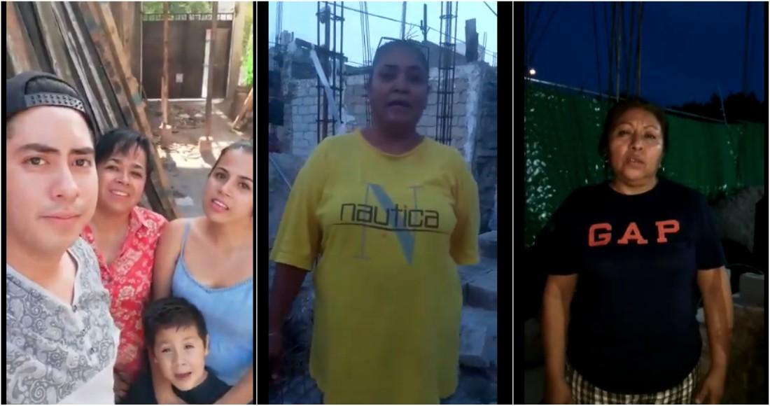 Video: Damnificados de Jojutla difunden VIDEOS donde aseguran que sí recibieron apoyo de Morena.