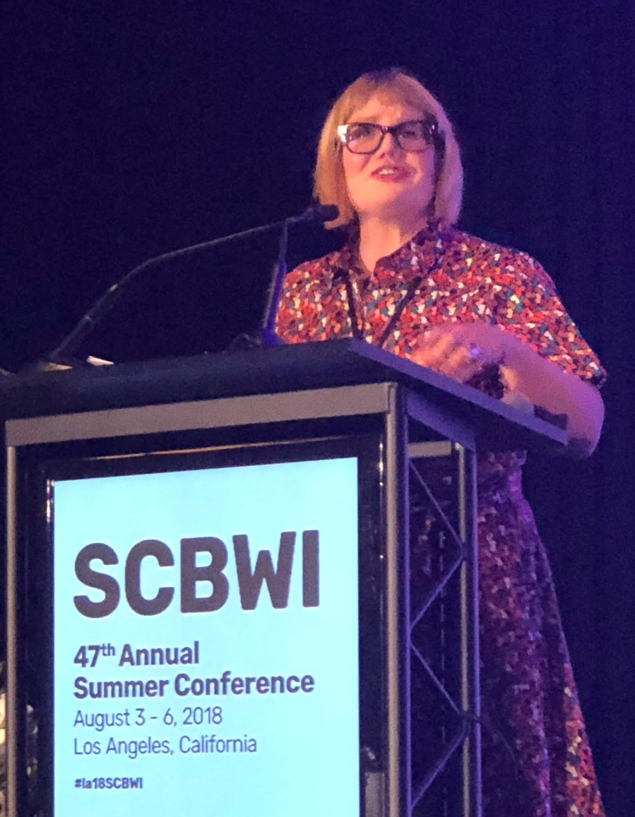 Conference August 4th Keynoted By >> The Official Scbwi Conference Blog Keynote Libba Bray
