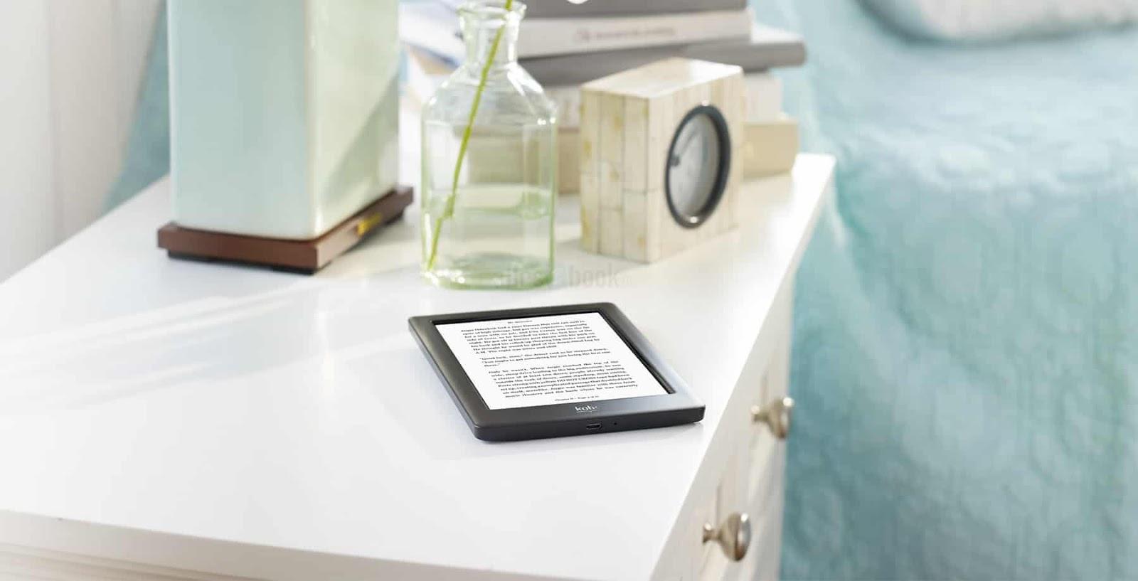 Czytnik Kobo Glo HD z kartą MicroSD