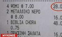 Στη Μύκονο 4 φέτες ψωμί κοστίζουν 28 ευρώ (βιντεο)