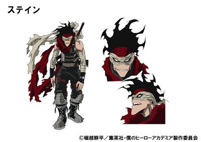 Stain, personaje al que pondrá voz Go Inoue.