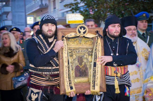Την Ιερά εικόνα της Παναγίας Σουμελά υποδέχθηκε με λαμπρότητα η Ορεστιάδα (Φωτο)