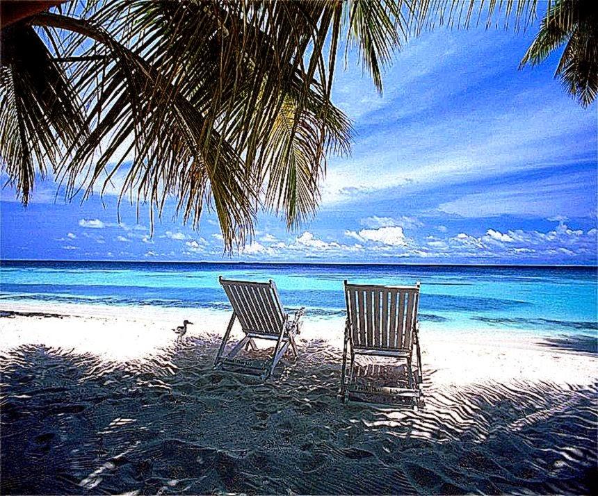 Beautiful Beach Scenes For Desktop | Free HD Wallpapers - photo#31