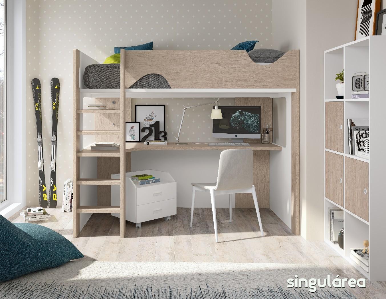 Litera infantil estudio 851 - Dormitorios infantiles valencia ...