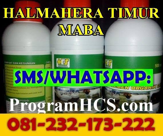 Jual SOC HCS Halmahera Timur Maba