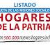 Ultimo listado actualizado Agosto 2017 beneficiarios tarjetas de alimentación hogares de la patria