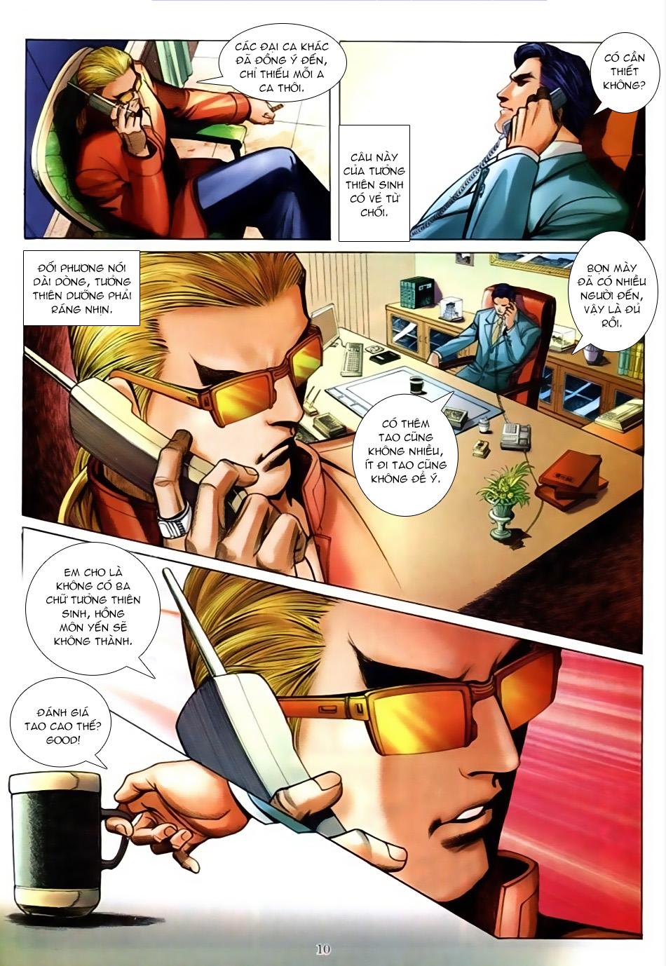 Người Trong Giang Hồ chapter 586: lưỡi chiến quần hùng trang 6