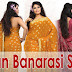 Indian Banarasi Saree, Banarasi Saree Fashion, Banarasi Saree