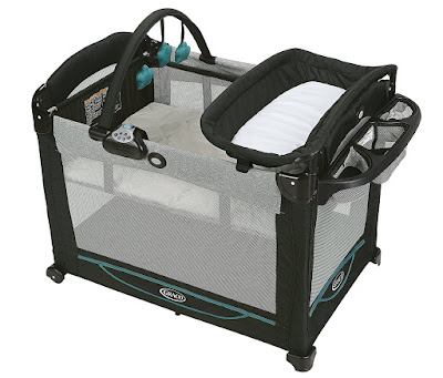Best items for a newborn baby: Graco Element Pack N' Play
