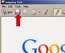 saving snipping tool images