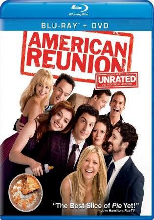 American Pie Reunion 2012 BRRip 850MB UNRATED Hindi Dual Audio 720p