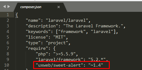 Cara Membuat Flash Message dengan Sweet Alert di Laravel
