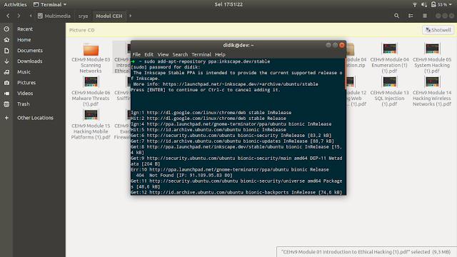 Cara install berbagai jenis file deb, bin, rpm, sh, tar, run di linux ubuntu