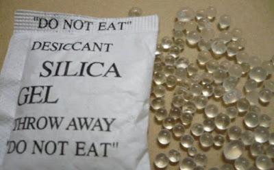 7 إستعمالات غريبة ومذهلة لأكياس جل السيليكا silica gel