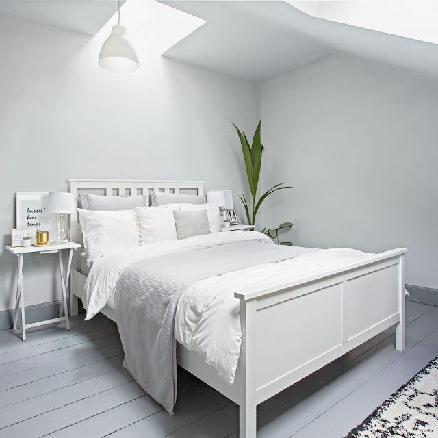 Decor scandinav într-un apartament pe două niveluri din Marea Britanie