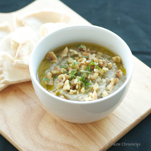 Baba Ganoush - Middle Eastern Eggplant Dip