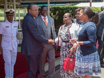 President Uhuru Kenyatta under fire. PHOTO | PSCU