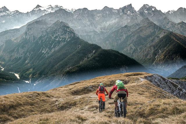 trail fleischbank karwendel mountainbike mtb bike