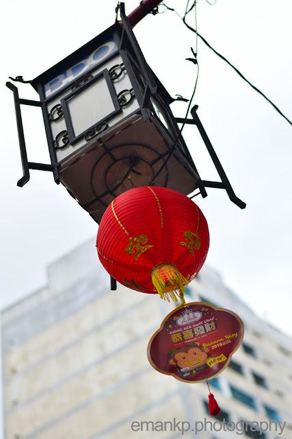 CHINATOWN PHOTOWALK 2016: Street post lantern