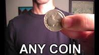 Трюк з вішалкою і монетою