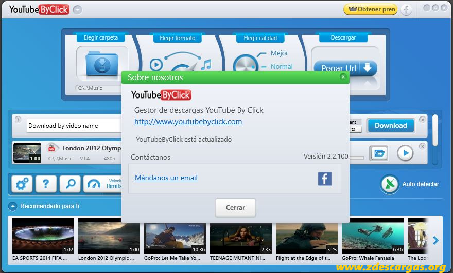 YouTube By Click Full Español