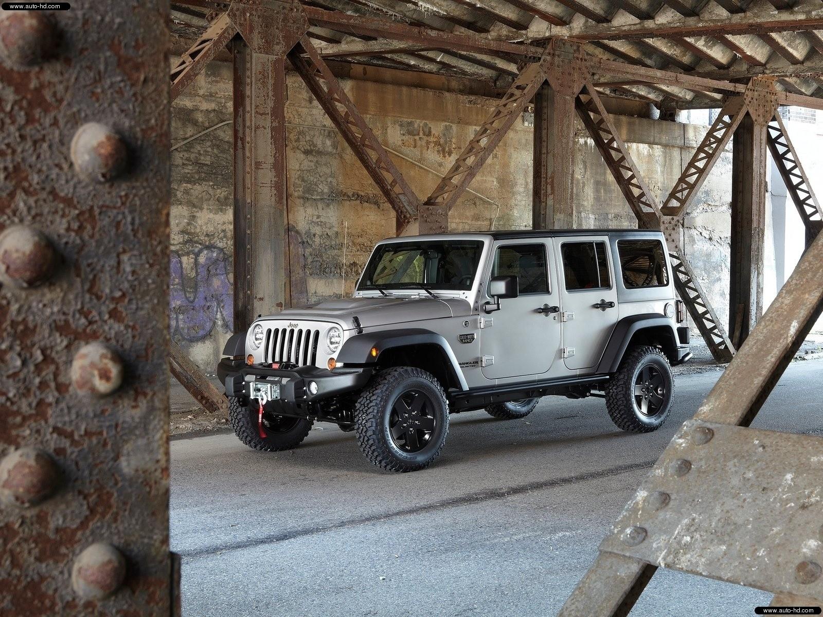 Jeep Jeep Wrangler Call Of Duty Mw3 2012