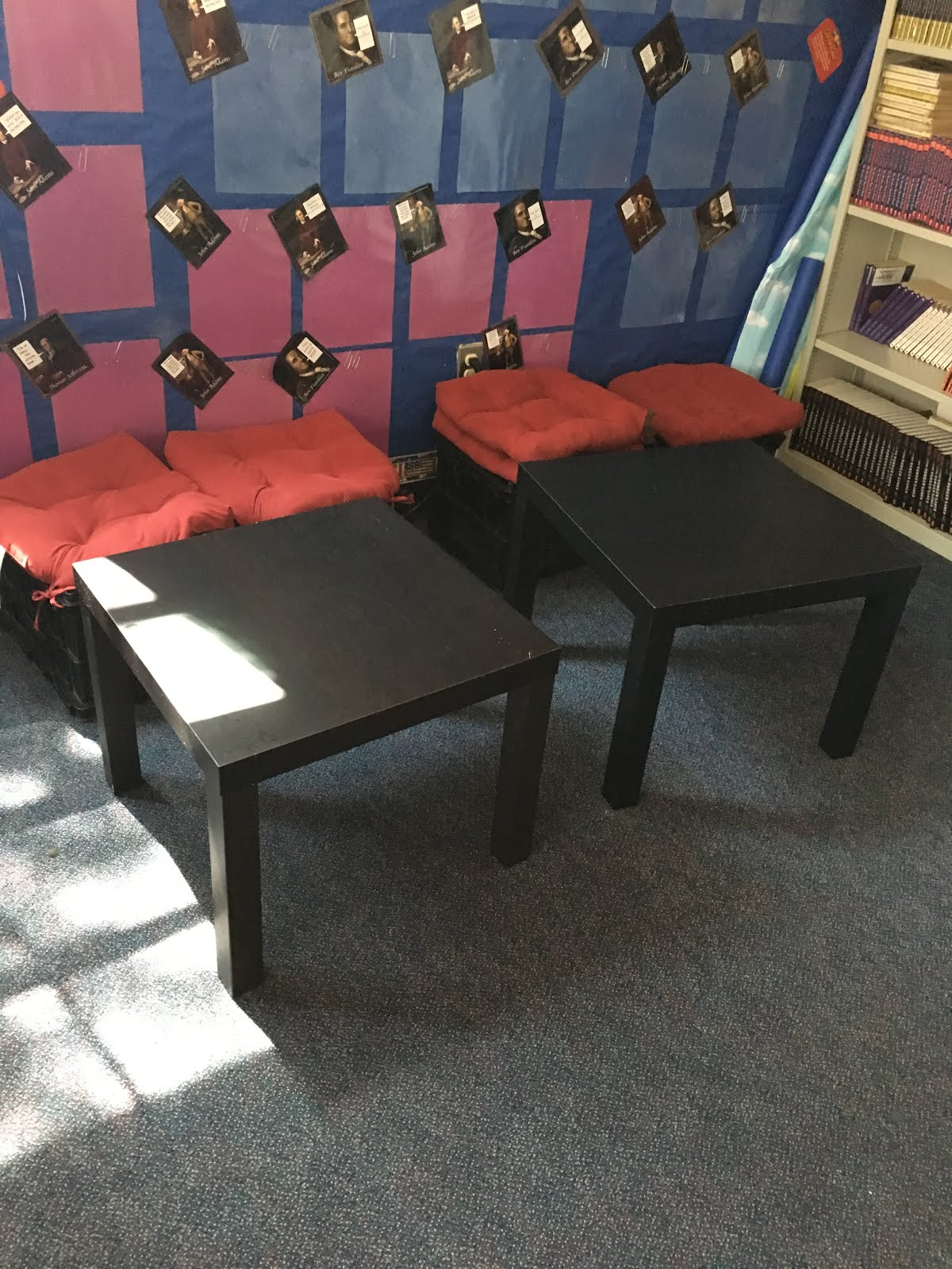 ikea kids table and chairs oversized pillow chair middle school mob: flexible seating in