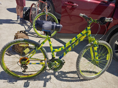 Burning Man bicycle