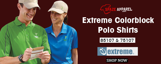 Extreme Colorblock Polo Shirts
