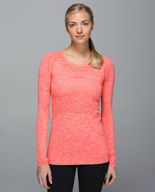 lululemon atomic red swiftly