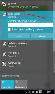 Cara Membuat Area Disekitar Anda bersinyal Wifi Dengan Command Prompt