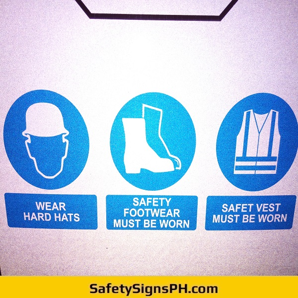Reflective PPE Sign Philippines