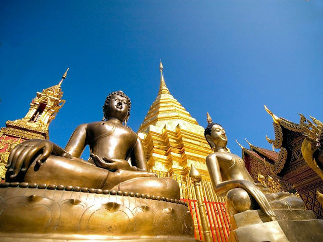 Chiang Mai, Wat Phra That Doi Suthep, Tourism Authority of Thailand, Copyright 2007 (Medium)
